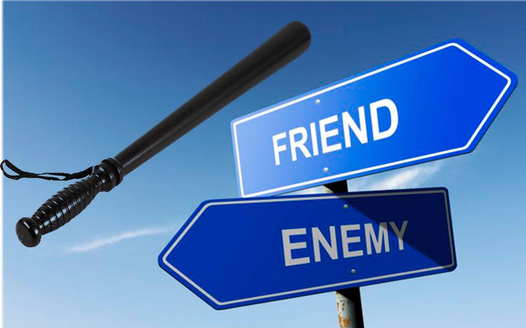 Yo estoy con el enemigo – un artículo de febrero de 2012