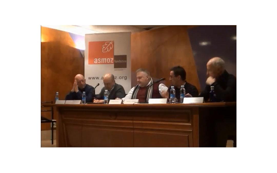 Video del debate de clausura del Curso de Derechos Humanos y Medios de Comunicación de la Fundación Asmoz.